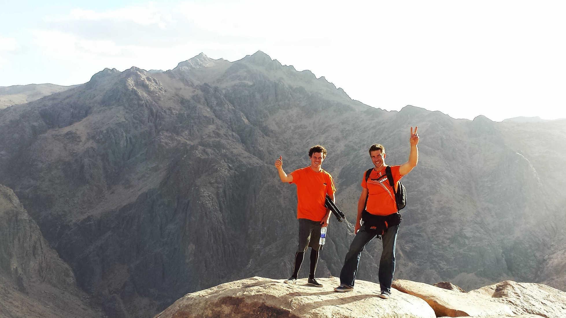 טיול להר הגבוה בסיני